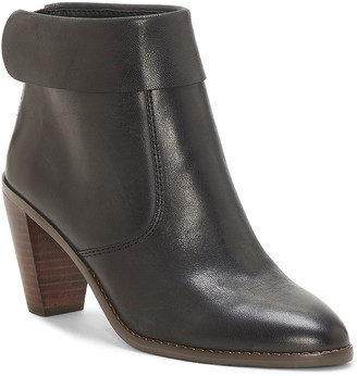 Lucky Brand Women's Casual boots BLACK - Black Nycott Leather Boot - Women