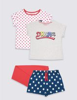 Marks and Spencer 2 Pack Short Sleeve Pyjamas (3-16 Years)