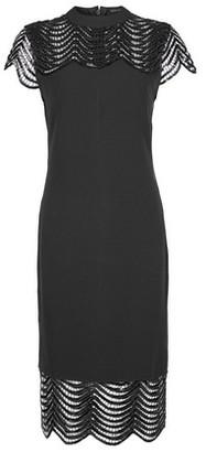 Dorothy Perkins Womens Showcase Black Sequin Blair Bodycon Dress, Black