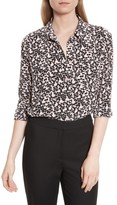 Equipment Women's Reese Print Silk Shirt