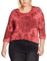 Via Appia Women's T-Shirt Rundhals 1/1 Arm Motiv Pyjama Bottoms,(EU)