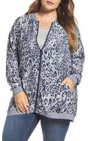 Melissa McCarthy Plus Size Women's Reversible Bomber Jacket