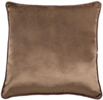 Bivain Fawn Brown Velvet Cushion