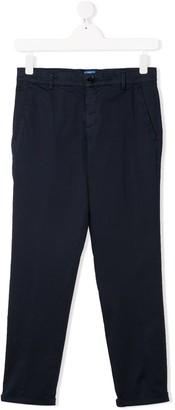 Fay Kids TEEN straight-leg chino trousers