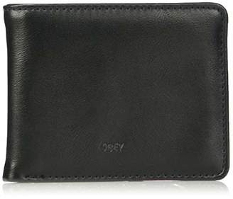 Obey Men's Gentry Jumble BI-FOLD Wallet