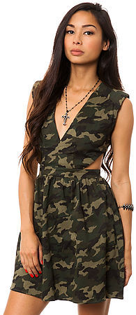 *MKL Collective The Camouflage Dress
