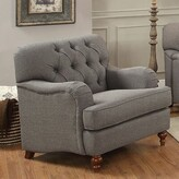 Oakes Armchair Canora Grey