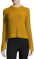 Rag & Bone Genna Ribbed Pullover Sweater, Gold