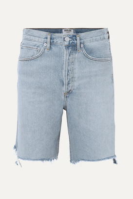 AGOLDE '90s Distressed Denim Shorts
