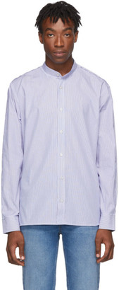 Golden Goose Blue and White Yuji Shirt