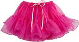 Fuchsia Tulle Ruffle & Bow Tutu - Toddler & Girls