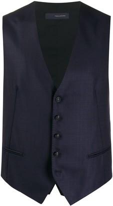 Tagliatore Tailored Button-Front Waistcoat