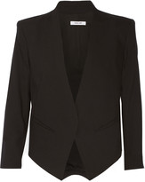 Helmut Lang Cropped wool-blend blazer