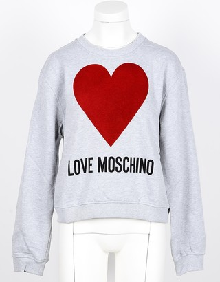 Love Moschino Women's Gray Sweatshirt