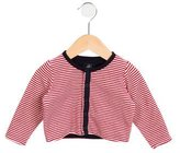 Petit Bateau Kids' Reversible Striped Cardigan