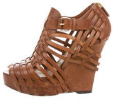 Givenchy Corrine Caged Wedges