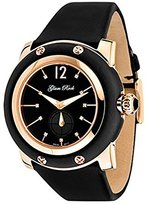 Glam Rock Women's GR10045 Miami Collection Diamond Accented Black Techno Silk Watch