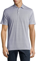 Peter Millar Pin-Dot Polo Shirt, Barchetta Blue