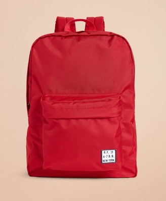 Brooks Brothers Red Fleece Logo Backpack