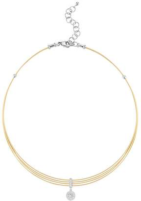 Alor Diamond Choker Necklace, 13""
