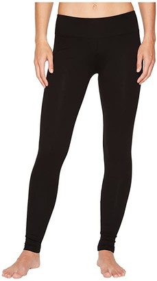 Lilla P Stretch Back Seam Leggings (Black) Women's Casual Pants