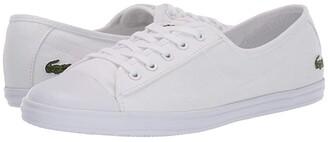 Lacoste Ziane BL 2 CFA (White/White) Women's Shoes