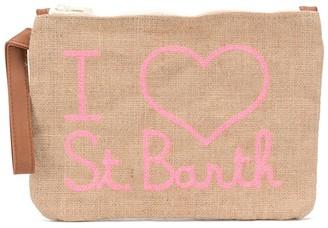 MC2 Saint Barth I heart St Barth clutch bag