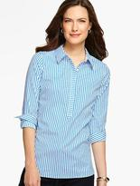 Talbots The Perfect Popover-Stripes