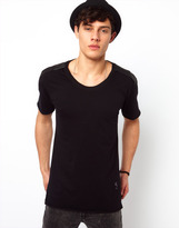 Religion T-Shirt with Trim Collar