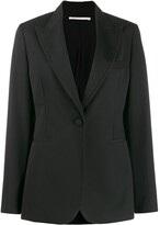 Stella McCartney single breasted fitted blazer