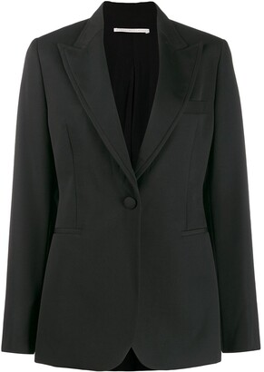 Stella McCartney Single Breasted Fitted Blazer