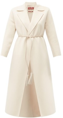 Max Mara Oncia Coat - Womens - Cream
