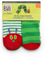 Out of Print Hungry Caterpillar Socks