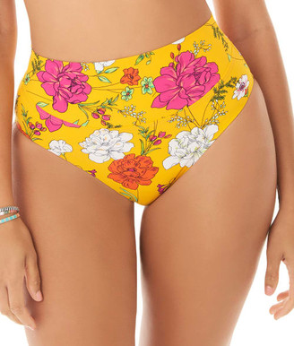 Skinny Dippers Mac & Cheese Dream High-Waist Bikini Bottom