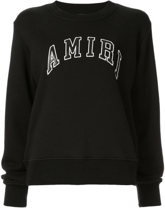 Amiri College crewneck sweatshirt