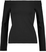L'Agence Melanie Off-The-Shoulder Jersey Top