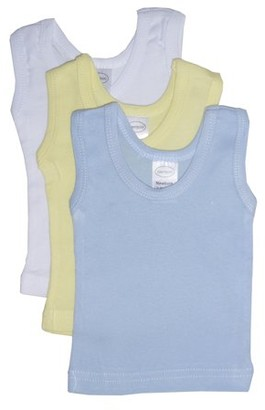 Bambini Pastel Tank Tops, 3pk (Baby Boys or Baby Girls, Unisex)