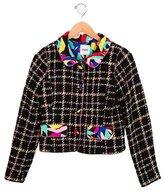 Moschino Girls' Tweed 2015 Jacket