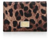 Dolce & Gabbana Leopard-Print Card Holder