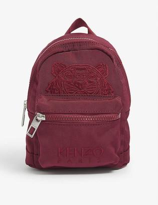 Kenzo Mini Kampus Tiger canvas backpack