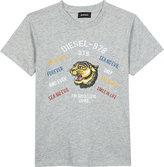 Diesel Tavi cotton T-shirt 6-16 years