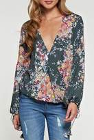 Love Stitch Lovestitch Floral Print Long-Sleeve