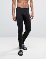 Asos Megging In Black With Stretch