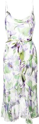 Alice + Olivia Tevi floral print dress