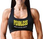 Monsta Clothing Co. Women's Fearless-(W-SBRA-167) Sports Bra