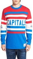 Mitchell & Ness Men's Capitals Open Net Pullover