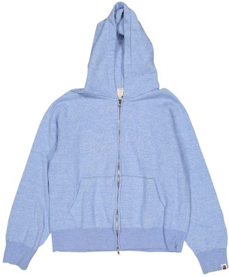 A Bathing Ape Blue Cotton Knitwear