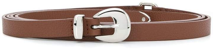 Orciani thin buckle belt