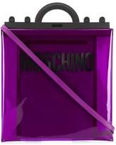 Moschino flat shopper tote bag