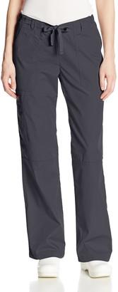 Cherokee Women's Workwear Scrubs Low Rise Draw String Cargo Pant